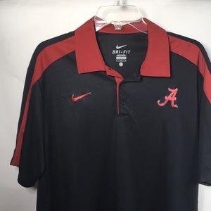 Nike Dry Fit Alabama Crimson Tide Polo